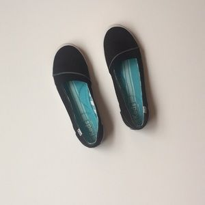 Keds Size 7 Brand New Black Slip Ons